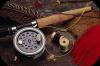 Fly fishing pesca con la mosca artificiale