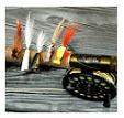pescare a mosca in mare pescare a streamers pesca coda di topo mare calabria