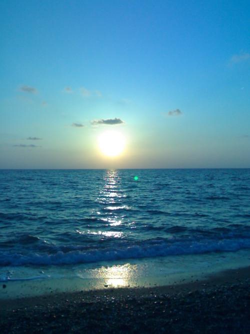 tramonto pesca