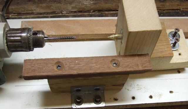 Calabria pesca online tornio casalingo con copiatore for Costruire tornio legno