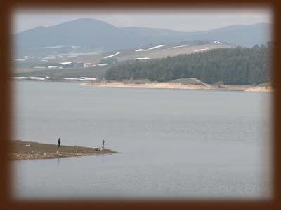pesca nel lago arvo sila calabria