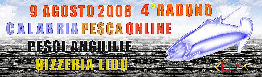 4° RADUNO CALABRIA PESCA ON LINE
